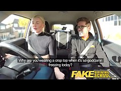 Fake Driving School lesson ends in suprise squi...