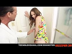 Horny Step-daughter Ass-fucked by Her Step-dad: HD Porn 38 - abuserporn.com