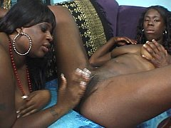 Ebony whores eating cunt