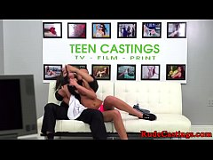 Real bigass teen hardfucked at sexaudition
