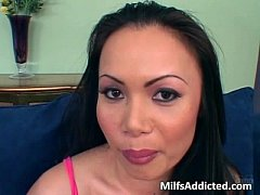 Dirty MILF Asian gets her wet craving