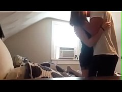 Horny couple showing how fucks - see more on sexomania.net