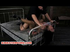 BDSM Maledom Bonded and Brutally Fucked Slaves