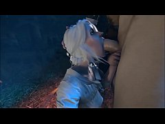 The Witcher Ciri Blowjob