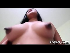 oriental girl goes for a large pecker
