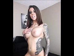karma rx fucks huge cock on sybian sex machine