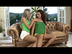 Lovemaking the lesbian way with Brandy and Dominika on Sapphic Erotica