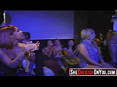 01 hot milfs at cfnm party caught cheating
