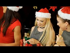 XMas party for female staff organised by Empera turned into real Bacchanalia with Santa