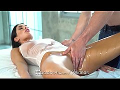 august ames sexy massage