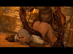The witcher hentai 3d