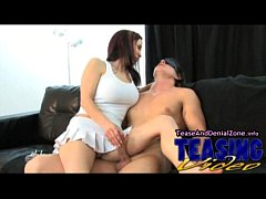 Sexy Tease and Denial with Brunette Cocktease
