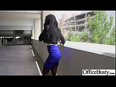 Hardcore Action In Office With Big Tits Slut Naughty Girl (amia miley) vid-02