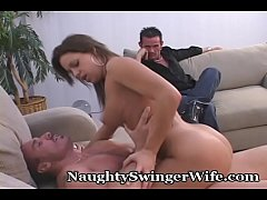 Wife Puts On A Show For Hubby