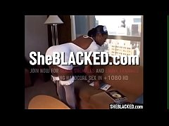 SheBLACKED.com - Ebony Shemale Nurse Blowjob