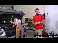 Brazzers - Brazzers Exxtra -  The Mechanic scene starring Ashley Adams and Chad White