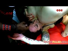 Bukkake Best Of 73 - Ani Blackfox, Adreena Winters, Khadisha 002