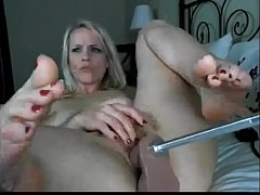 Slutty Blonde Gets Fucked Hard by her Machine