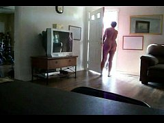 flashing naked wife pizza boy
