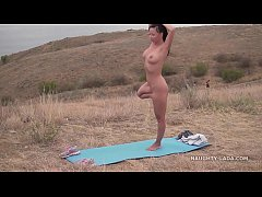 I love doing exercises nude in public