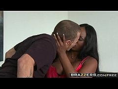 (Mr Pete) fucks ebony Babysitter (Jada Fire) hard - Brazzers