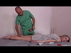 mm-Blonde teen handjob domination