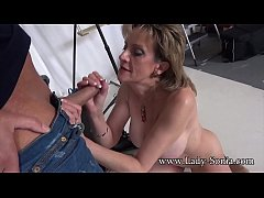 Photographer Face Fucks Mature Lady Sonia