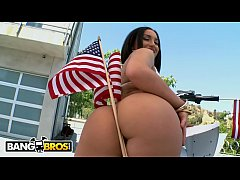BANGBROS - Happy Birthday, America. Here Is Gabriella Paltrova Taking It In The Ass.