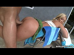 Thick Blonde MILF gets Long Dick