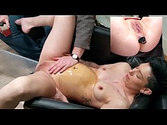 Charlie Love's second enema in the chair