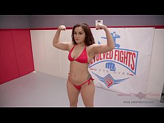 Pint sized Jay West is determined to redeem himself against athletic Gabriella Paltrova
