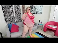 Blonde SSBBW needs some rough sex