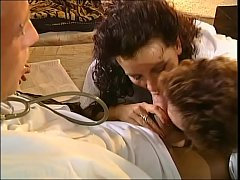 Doctor' cock gets sucked by two nurses