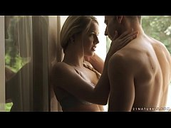 Amazing beauty Alecia Fox enjoys sensual sex on...