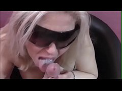 First amateur video of Musa Libertina: POV blowjob with cumshot on tits