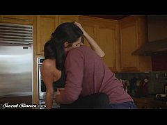 Silvia Saige Fucks Her Son In Law on the Kitchen Counter