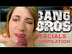 HD BANGBROS - Epic Facial Fest Cum Shot Compilation! Preston Parker Jizzing On Over 40 Faces #pancakes