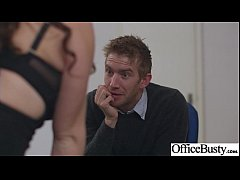 Clip sex (Tasha Holz) Girl With Round Big Tits In Hard Style Sex In Office clip-28