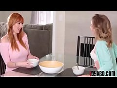 Angel Smalls and Lauren Phillips in Pussy For Breakfast