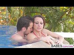 Babes - Elegant Anal - Fun Pool starring Joel and Martina Gold clip