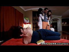 Hot parody Foursome (Gia Dimarco, Madison Ivy, Zoe Voss, Keiran Lee) - BRAZZERS