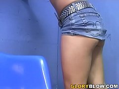 Finesse BBC Blowjob - Gloryhole