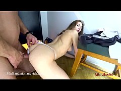 PUBLIC SEX AT THE STORES DRESSING ROOM WITH HORNY FITNESS MODEL MIA BANDINI