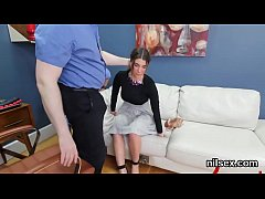 Wacky cutie was brought in anal asylum for harsh treatment