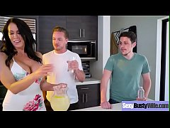 (Reagan Foxx) Sexy Busty Housewife In Hardcore Sex Tape clip-24
