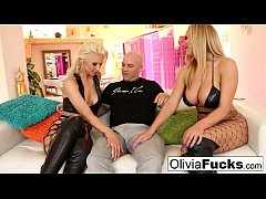 Olivia Austin Hot Threesome