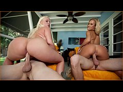 HD BANGBROS - Big Ass Blondes with Blue Eyes Feat. Angel Vain, Nicole Aniston