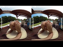 DDFNetwork VR - Poolside VR Striptease with Alice