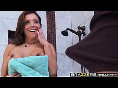 Brazzers - Milfs Like it Big -  Hot Milf Fucks Young Guy in the Shower scene starring Francesca Le a