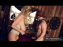KELLY MADISON - Off The Rails Steampunk Sex